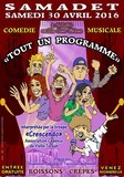 affiche comedie musicale acts